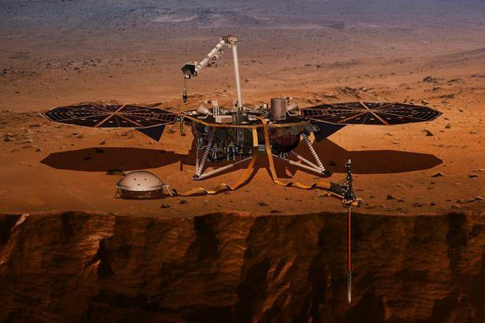 NASA探测到火星发生地震 由此证明火星是一颗活跃的星球